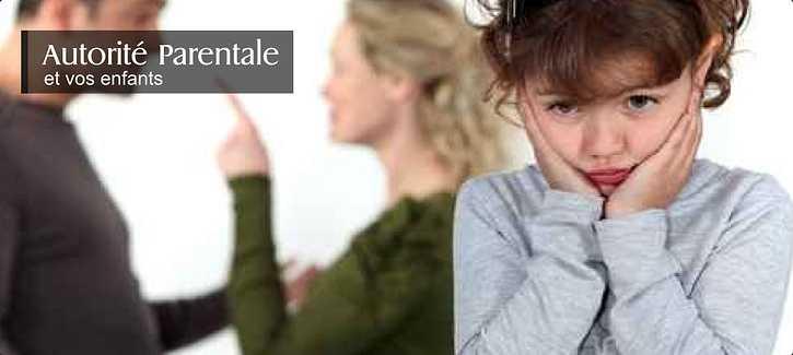 Exercice de l'autorité parentale: le partage, la garde alternée, sortie du territoire 0